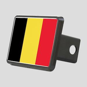 Belgian flag Rectangular Hitch Cover
