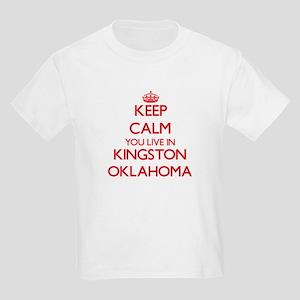 Keep calm you live in Kingston Oklahoma T-Shirt