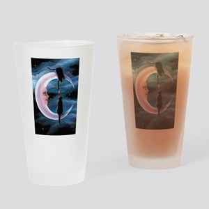 Cat 581 Drinking Glass
