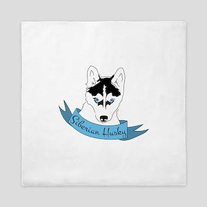 Siberian Husky Queen Duvet