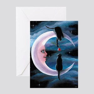 Cat 581 Greeting Cards