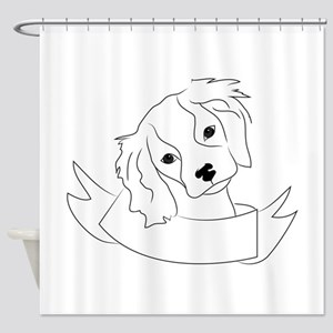 King Charles Shower Curtain