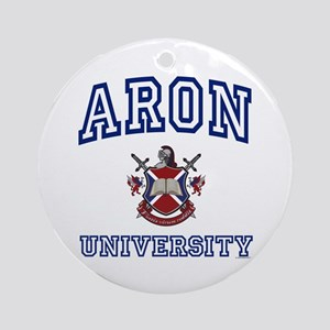 ARON University Ornament (Round)