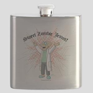 Sweet Zombie Jesus Flask