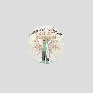 Sweet Zombie Jesus Mini Button