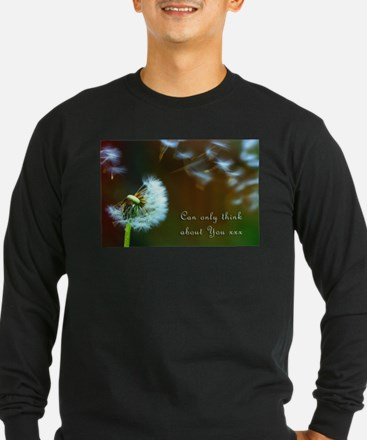 Dandelion 'Thinking About You' Long Sleeve T-Shirt