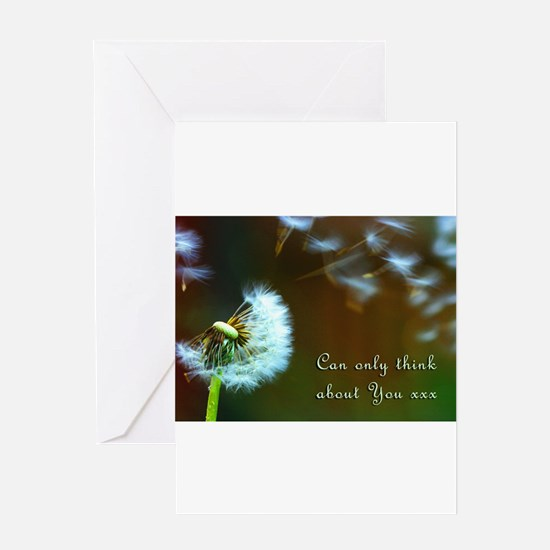 Dandelion 'Thinking About You' Greeting Cards