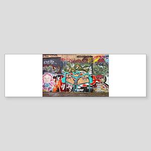 Street Graffiti Bumper Sticker