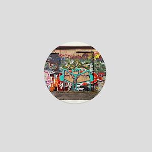 Street Graffiti Mini Button