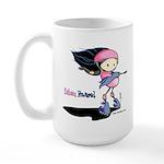 Doodlez Studios Babem Powered Large Mug