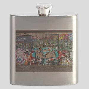 Street Graffiti Flask