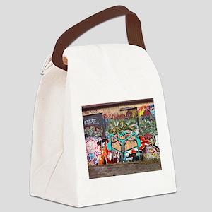 Street Graffiti Canvas Lunch Bag