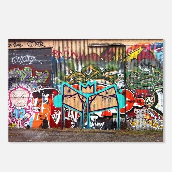 Street Graffiti Postcards (Package of 8)