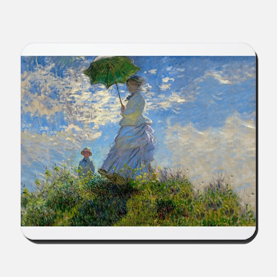 Woman with a Parasol Claude Monet Impressionist Mo