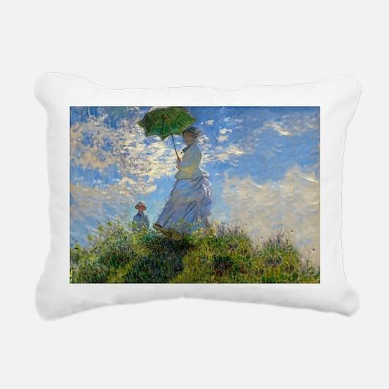 Woman with a Parasol Claude Monet Impressionist Re