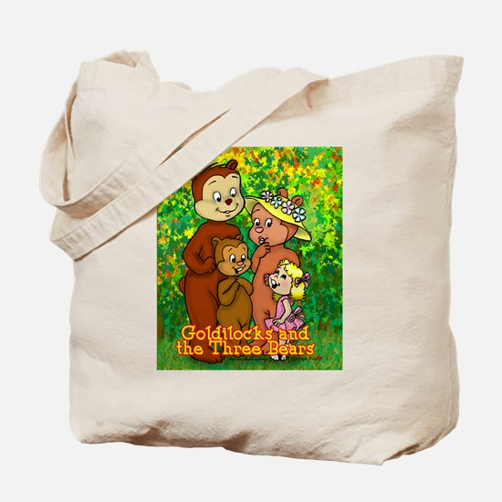3 Bears Tote Bag