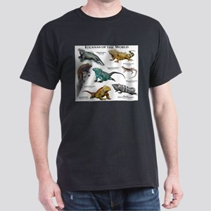 Iguanas of the World Dark T-Shirt