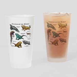 Iguanas of the World Drinking Glass