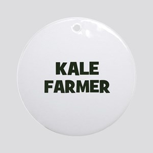 kale farmer Ornament (Round)