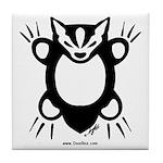 Doodlez Studios Badgee Tile Coaster
