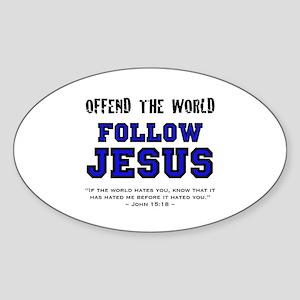 OTW (BT) - Oval Sticker