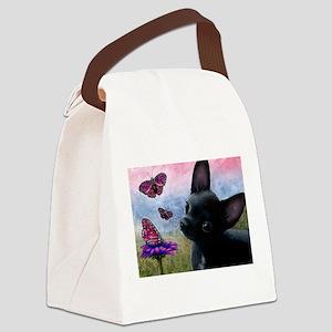 dog 91 Canvas Lunch Bag