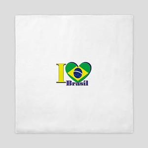 I love Brasil Queen Duvet