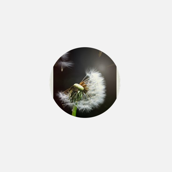 Dandelion blowing Mini Button