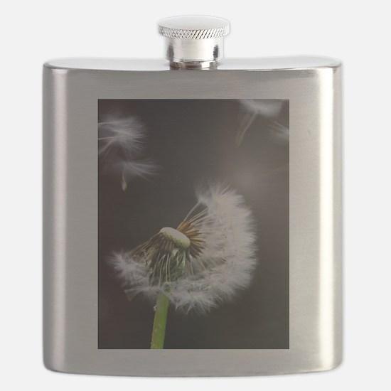Dandelion blowing Flask