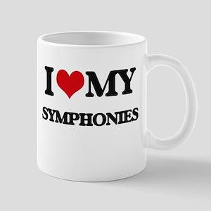 I Love My SYMPHONIES Mugs