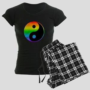 Rainbow Yin Yang Symbol Pajamas
