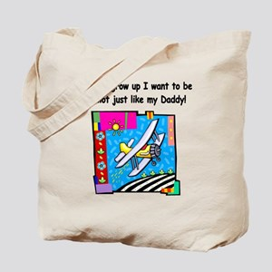 Airplane Pilot Daddy Tote Bag