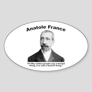 Foolish Sticker (Oval)