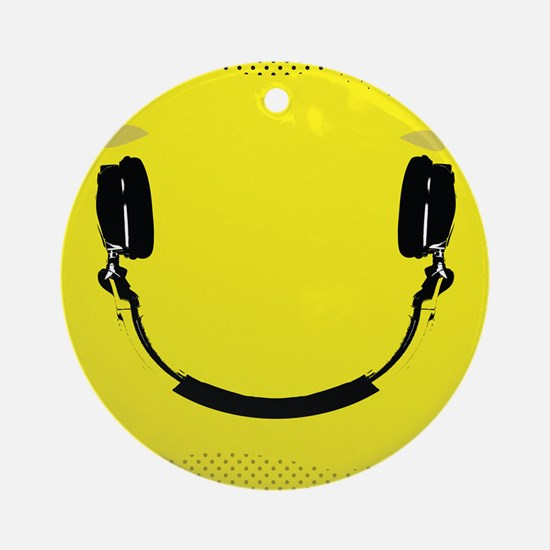 Smiley Ornament (Round)