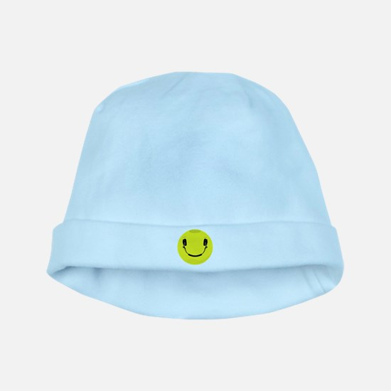 Smiley baby hat