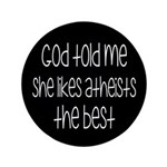 God Told Me She Likes Atheists 3.5