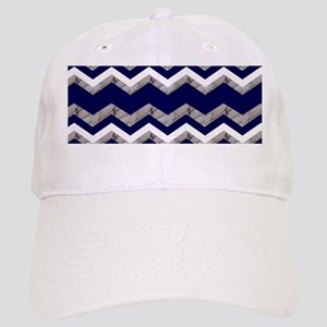 dbc949791bf Chevron Royal Blue Hats - CafePress