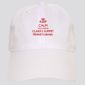 Keep calm you live in Clarks Summit Pennsylvan Cap