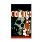 DON'T MIX 'EM vinyl sticker