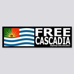 Free Cascadia Bumpersticker
