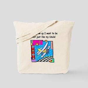Airplane Pilot Uncle Tote Bag