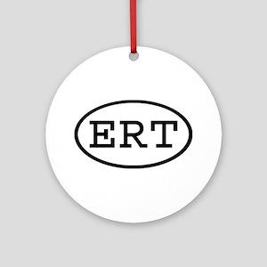 ERT Oval Ornament (Round)