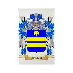 Holcblat Rectangle Magnet (100 pack)