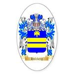 Holcberg Sticker (Oval 10 pk)