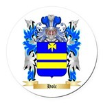 Holc Round Car Magnet