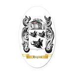 Hogins Oval Car Magnet