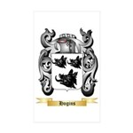 Hogins Sticker (Rectangle 50 pk)