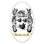 Hogins Sticker (Oval 10 pk)