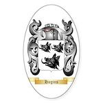 Hogins Sticker (Oval 50 pk)