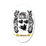 Hogins 35x21 Oval Wall Decal